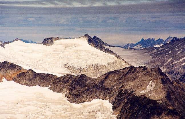 Austera Peak from the SE...