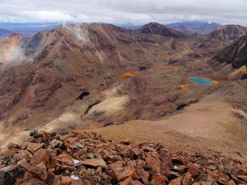 Cerro Cunurama Summit View