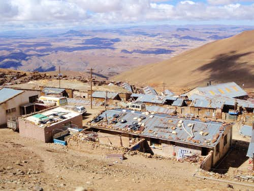 Highest Village In Bolivia