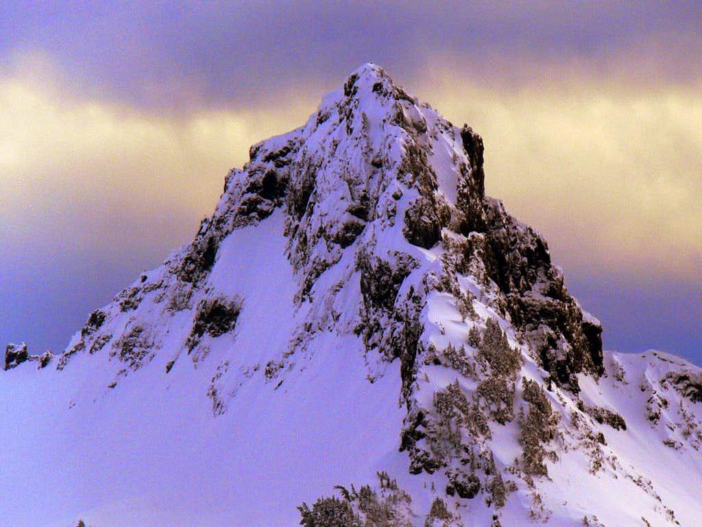 Pinnacle Peak during Evening