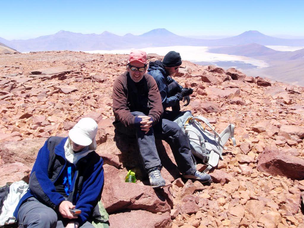 Callejón Cañapa Summit