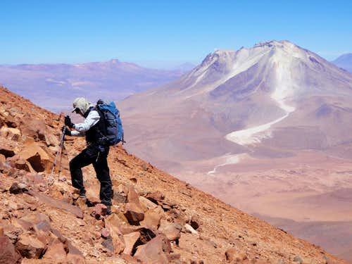 Ascending Cañapa