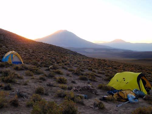 Tomasamil Camp At Dawn