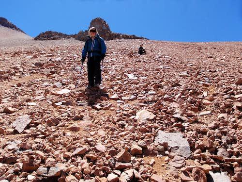 Descending Cañapa