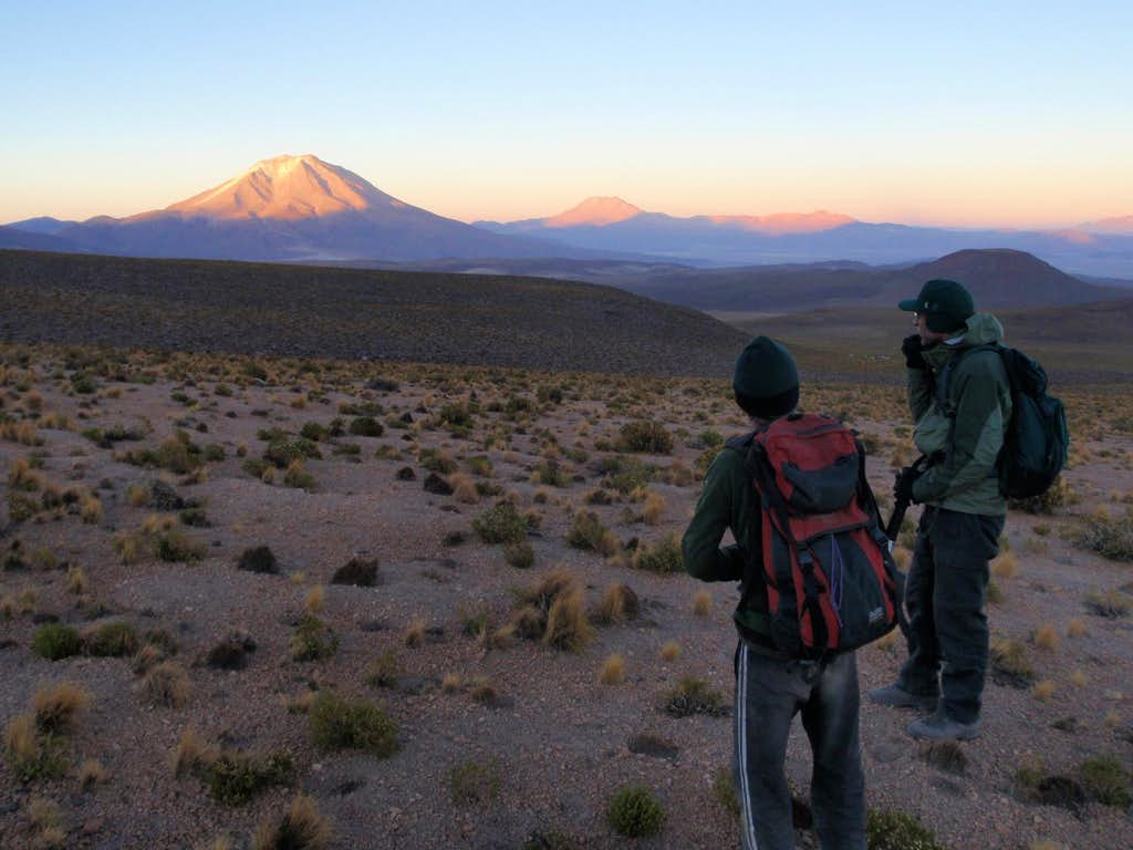 Andean Alpenglow