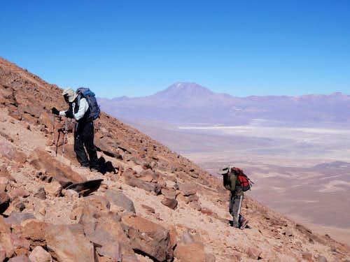 Cerro Tomasamil North Ridge