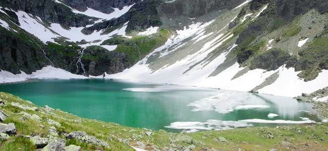 il lago San Grato (2462 m.)