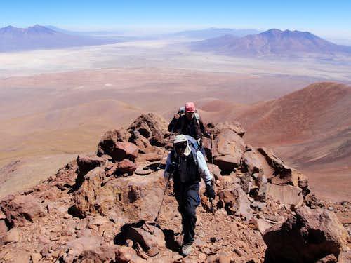 High On The North Ridge