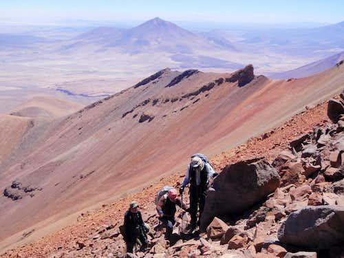 Climbers On Tomasamil