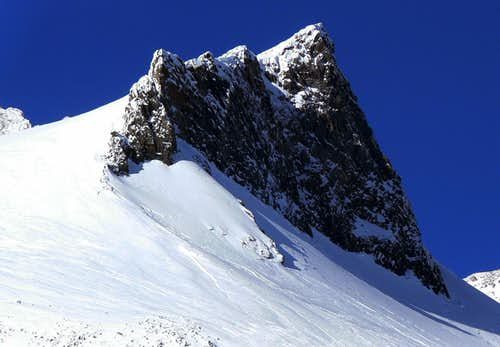 Anvil Rock during Winter