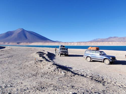 Stopping At Laguna Verde