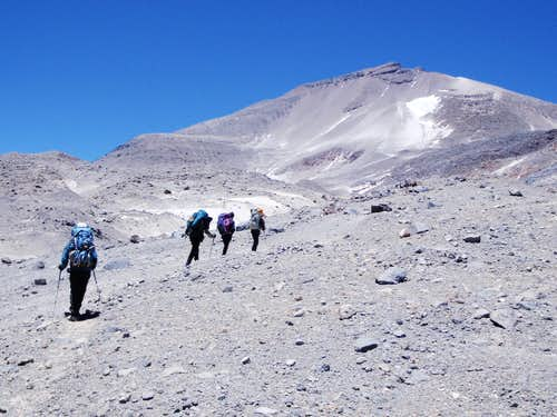 Approaching Camp 3