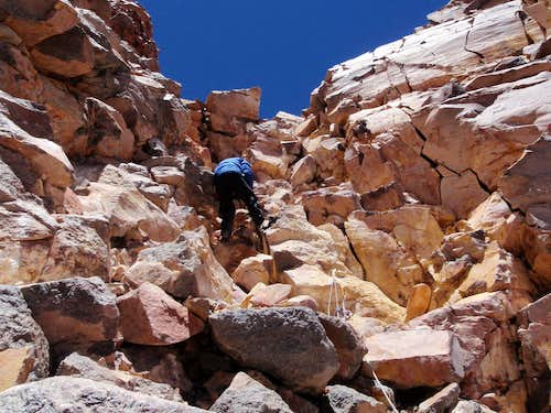 Rock Climbing Above 22,000 Feet