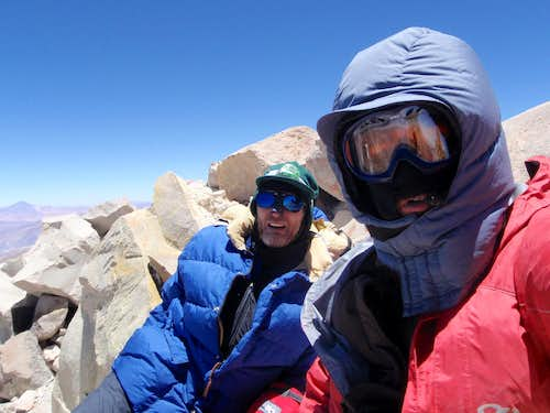 On The Chilean Summit