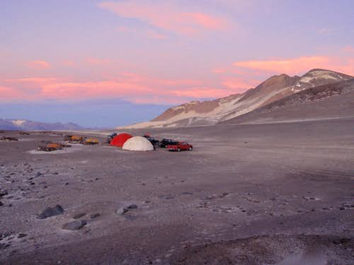 Atacama Camp Sunset