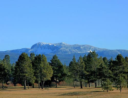 Paulina Peak from Sunriver
