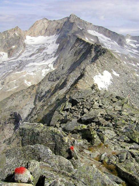 The ridge where leads...