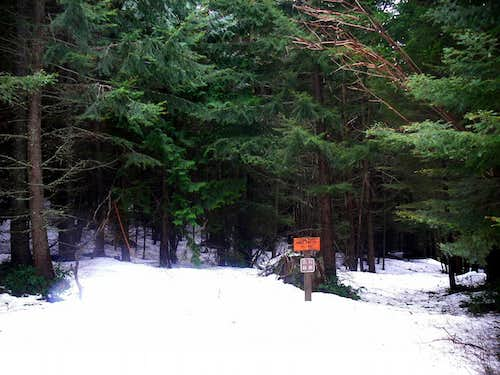 White Pine Creek Trailhead