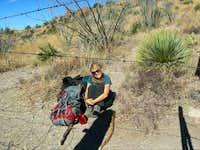 Mexican Border near Montezuma Pass