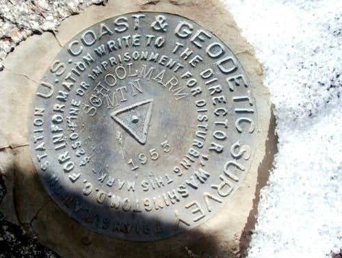 1953 Triangulation Marker