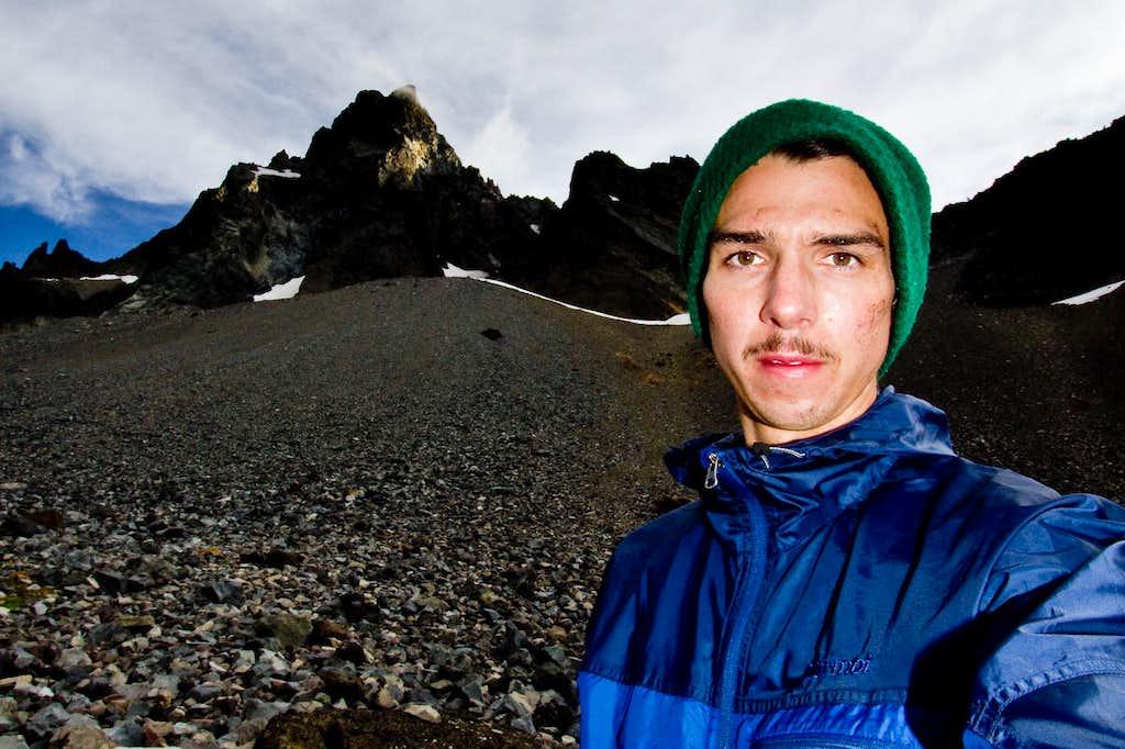 Scuffed Below the North Face