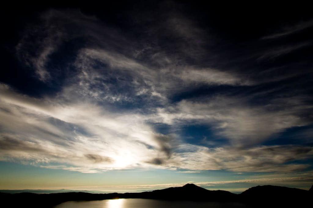 Moody Sky Over Mount Scott