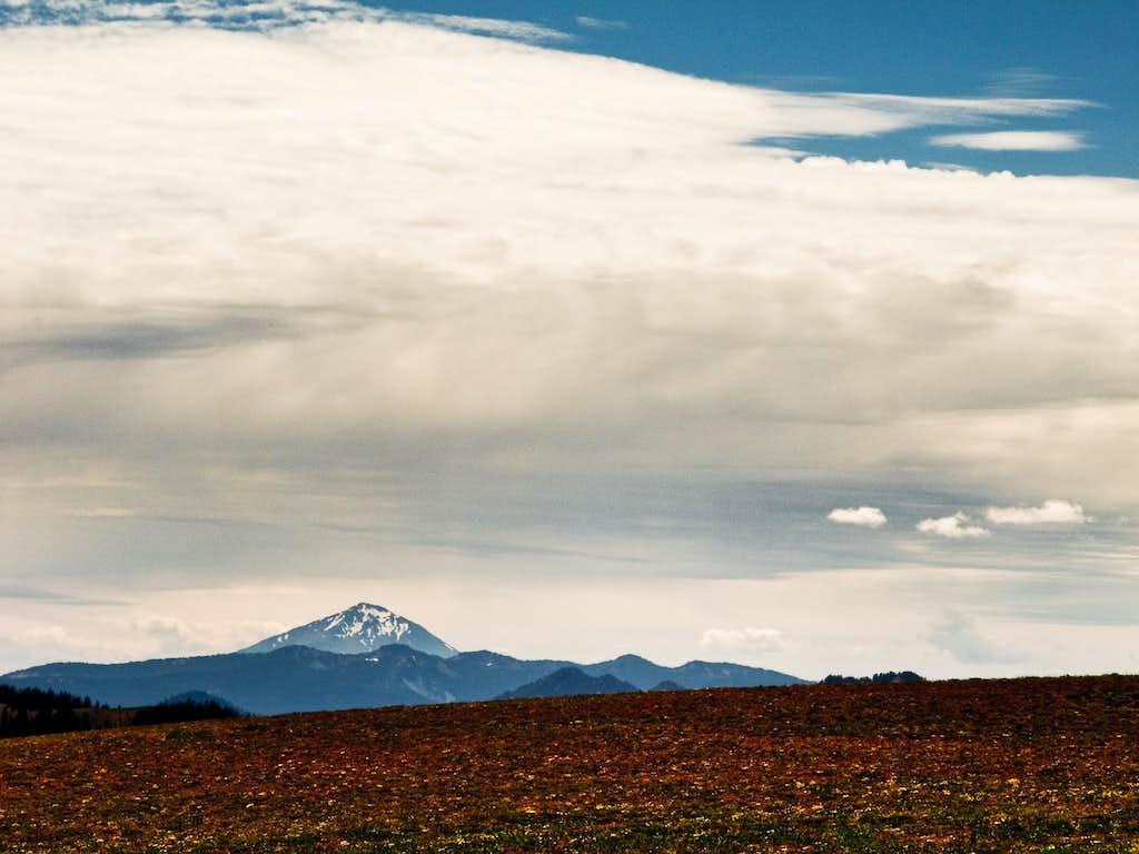 Mt. McLoughlin Viewed From Dutton Ridge