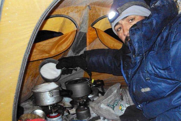 Mirza Ali AT High camp