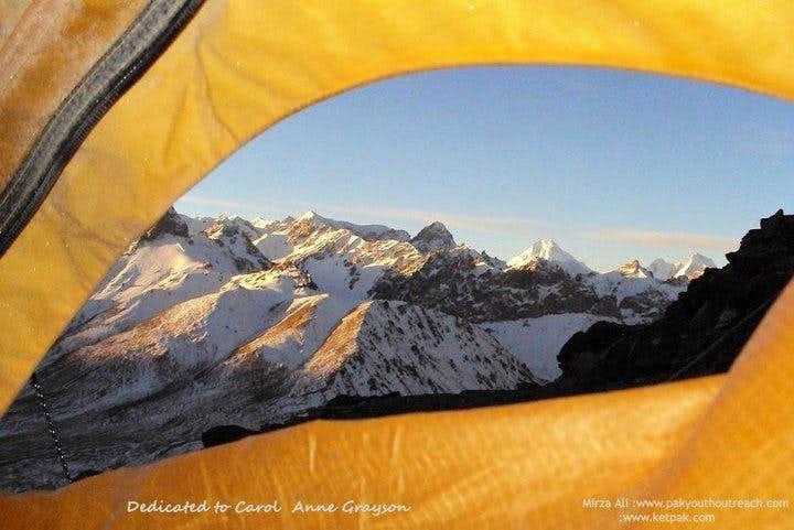 Samin Baig first pakistani women winter expedition