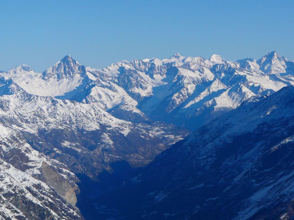 A look towards the Bernese Alps