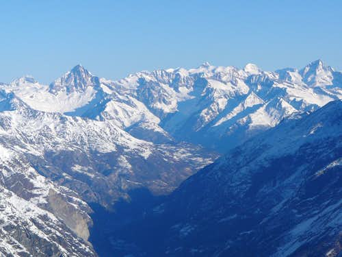A look towards the Bernese Alps