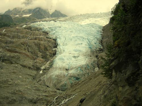 Mouth of Glacier des Bossons