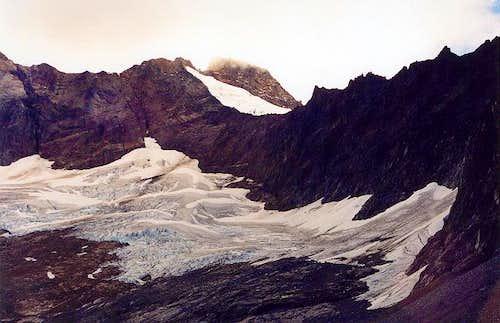 The Davenport Glacier--which...