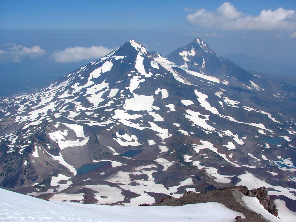 View from South Sister
