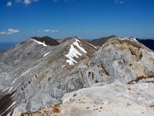 View of Sacajawea from Matterhorn