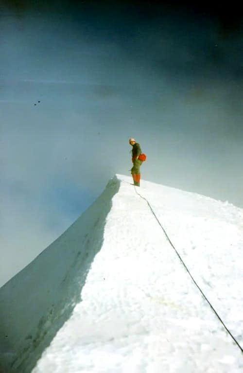 WESTERN BREITHORN (4165m) on SUMMIT 1967