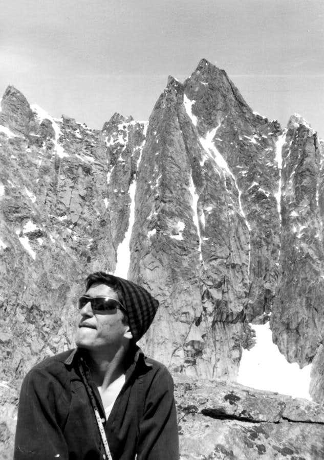 From AIGUILLE de TALEFRE (3730m) E Arete to AIGUILLE de SAVOIE (3604m) on 1966
