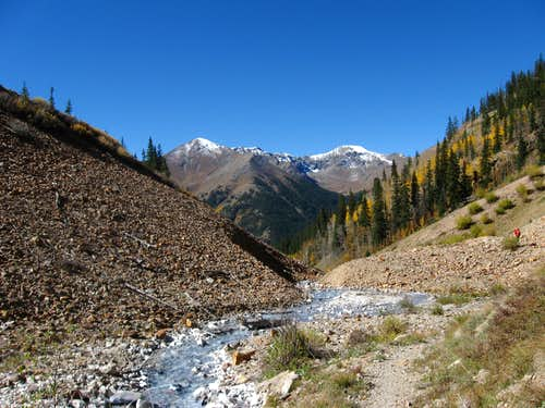 Handies Peak, Sunshine Peak, & Redcloud Peak 9/25/10