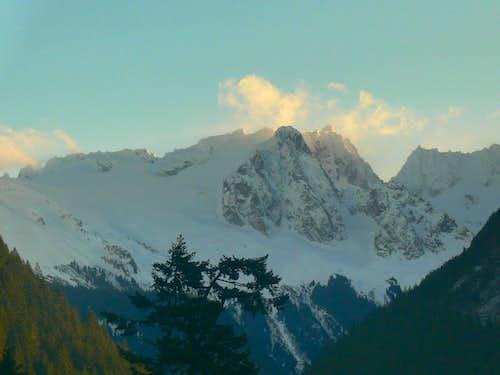 Eldorado Peak in the Morning