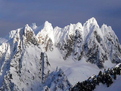 Dorado Peak Upclose