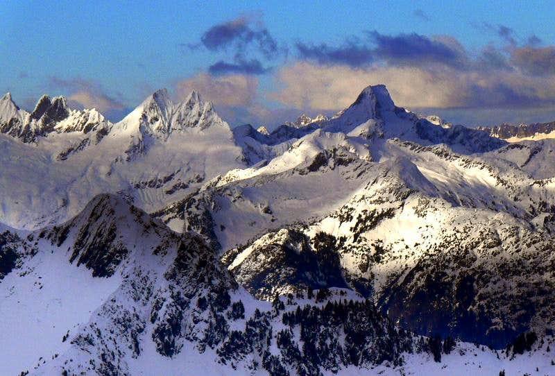 West McMillan Spire and Luna Peak
