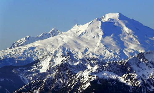 Mount Baker in Winter