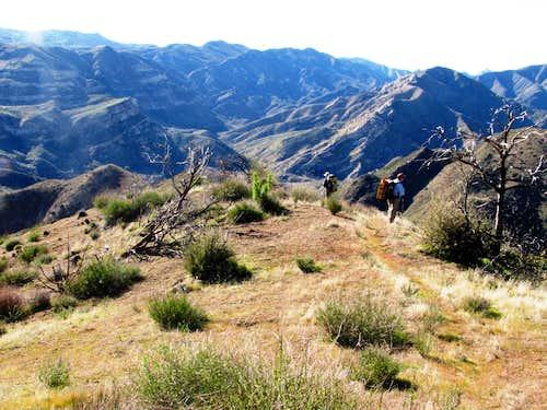 Descending to the Sisquoc
