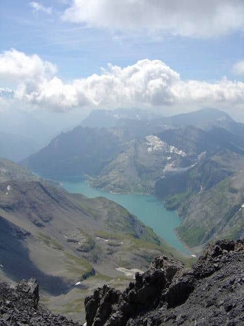 Lac d'Emosson from Tour...