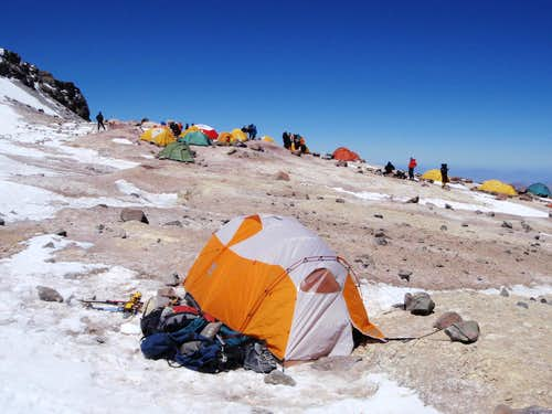 18,300 Foot Camp