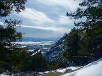 Switchbacks on Mt. Princeton