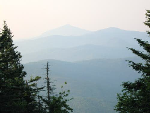Camel's Hump in Green Mts of Vermont