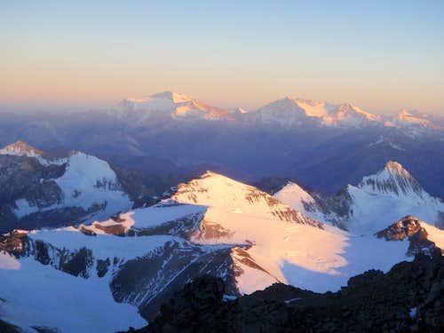 Mercedario Alpenglow