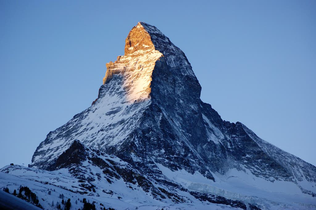 Matterhorn Sunrise   Photos  Diagrams  U0026 Topos   Summitpost