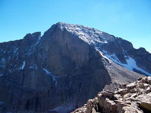 East face of Longs Peak from...